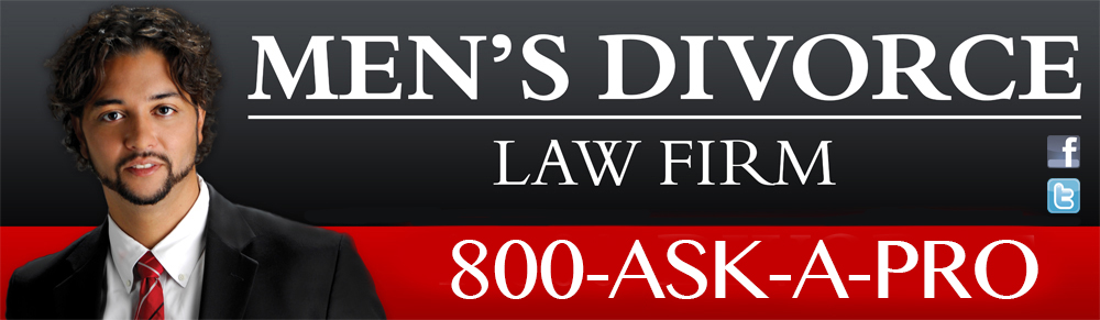 Mens Divorce Law Firm using 1-800-ASK-A-PRo