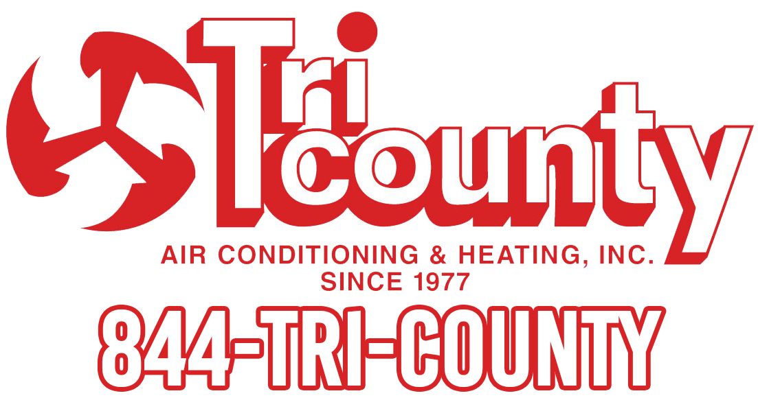 Tri-County Air Conditioning sign using 1-844-TRI-COUNTY
