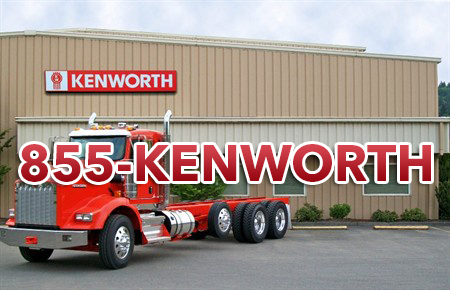 Kenworth dealership using 1-855-KENWORTH