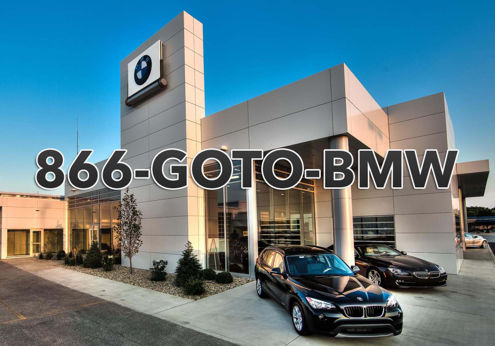 BMW dealership using 1-866-GOTO-BMW