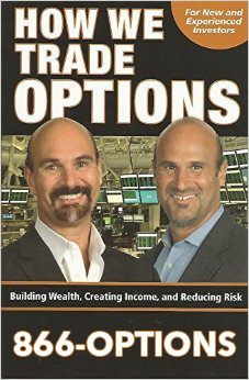 How we trade options book using 1-866-OPTIONS