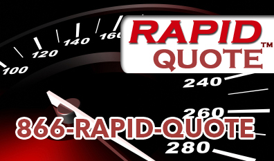 Rapid quote need guage using 1-866-RAPID-QUOTE