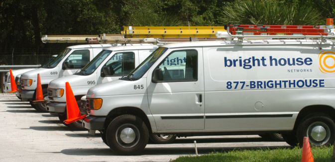 Brighthouse vans using 1-877-BRIGHTHOUSE
