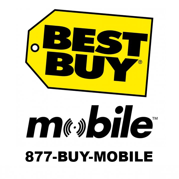 Besty Buy Mobile logo using 1-877-BUY-MOBILE