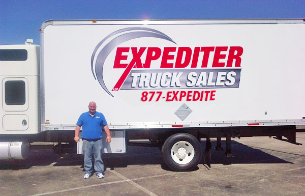 Expediter Truck Sales van using 1-877-EXPEDITE