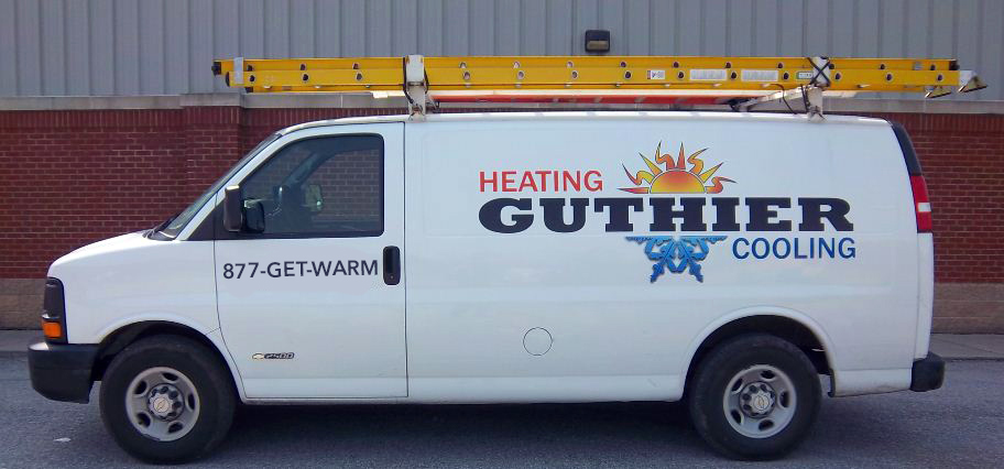 Heating and Cooling Van using 1-877-GET-WARM